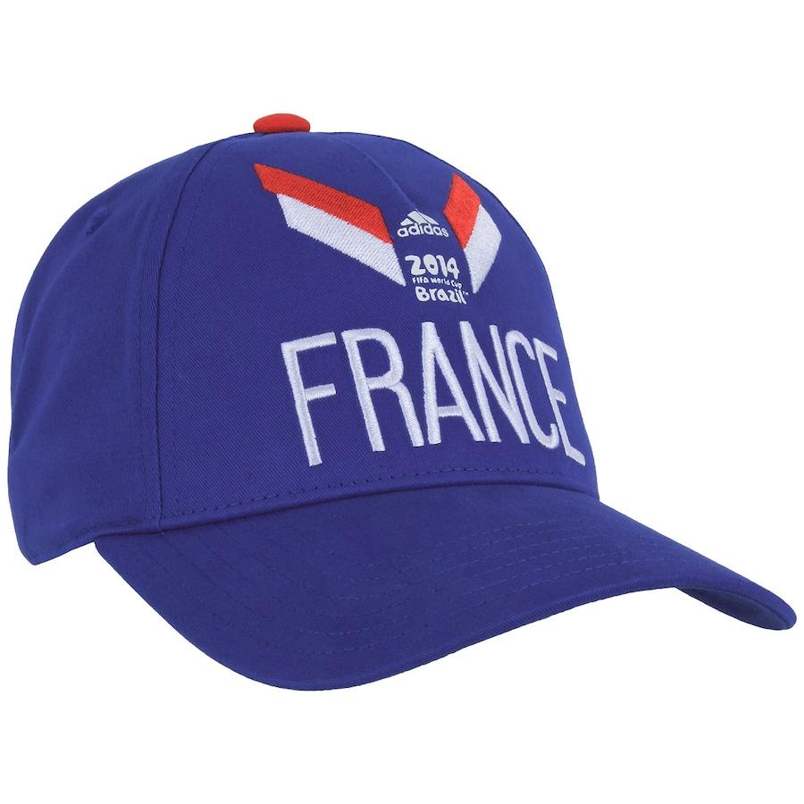 Boné Adidas França 3S 833216deb34