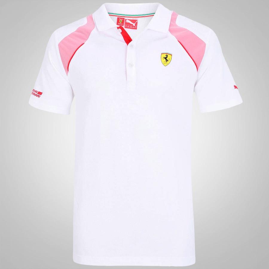 b06f33a71a Camisa Polo Puma Scuderia Ferrari 761470