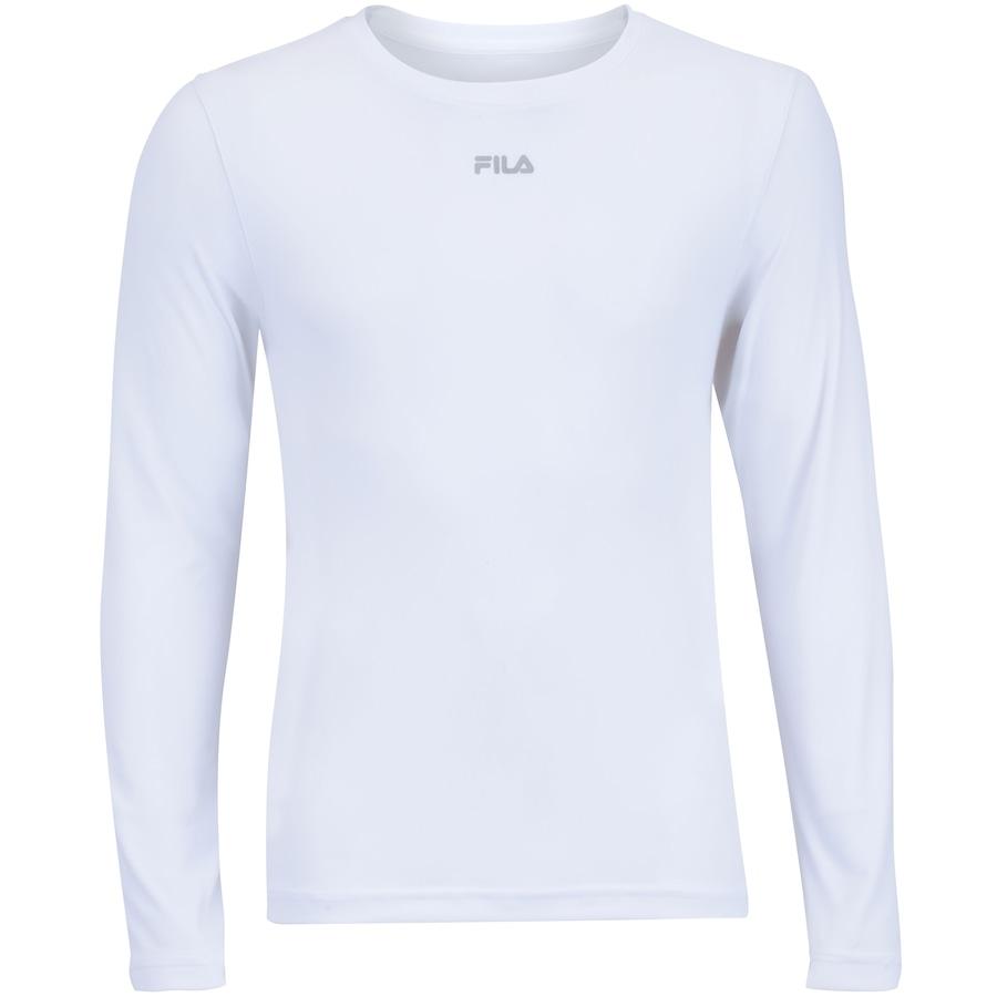 cdd6a27ca2 Camiseta Manga Longa com Proteção Solar UV Fila Basic