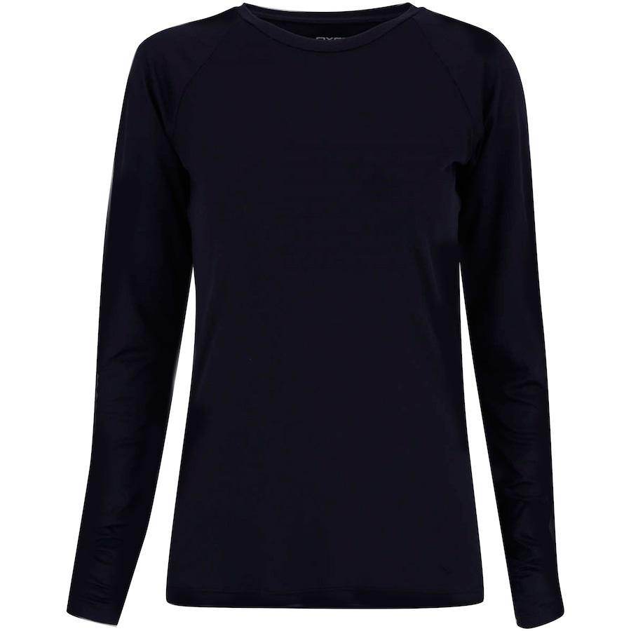 48111f635e Camiseta Manga Longa com Proteção Solar UV50+ Oxer Custom - Feminina