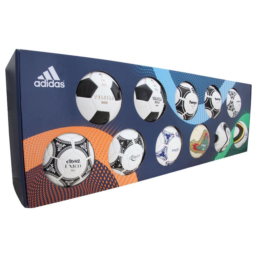 a63818a148 Minibolas Históricas Adidas da Copa do Mundo FIFA