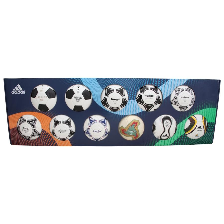 Minibolas Históricas Adidas da Copa do Mundo FIFA f6bb270717dea