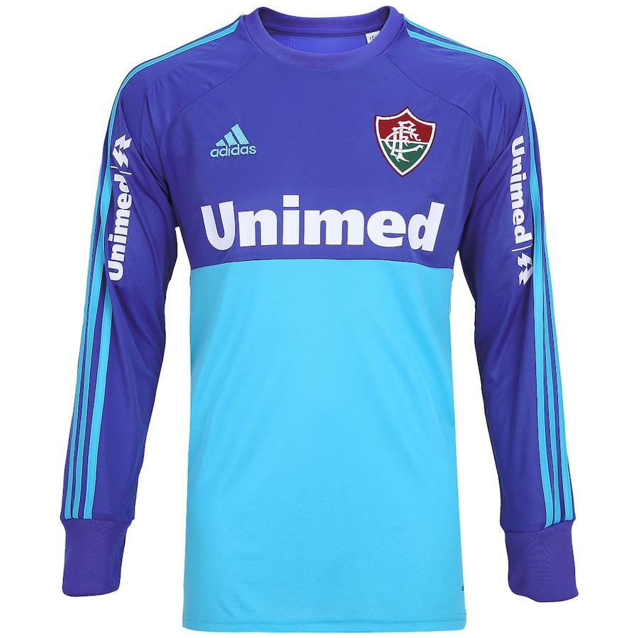 Camisa de Goleiro Fluminense II 2014 s nº Adidas Manga Lo 95ec1668b54ad