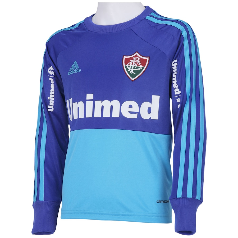 0ec6b5545f177 ... Camisa de Goleiro Fluminense II 2014 s nº adidas - Infantil ...
