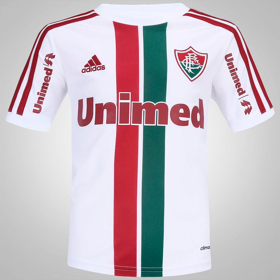 df9eb8b944 Camisa Adidas Fluminense Away Infantil