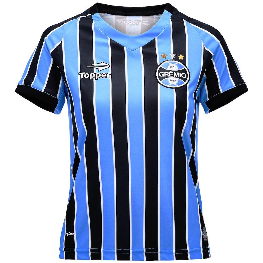 5009397cc4 Camisa Topper Grêmio I 2014 - Feminina