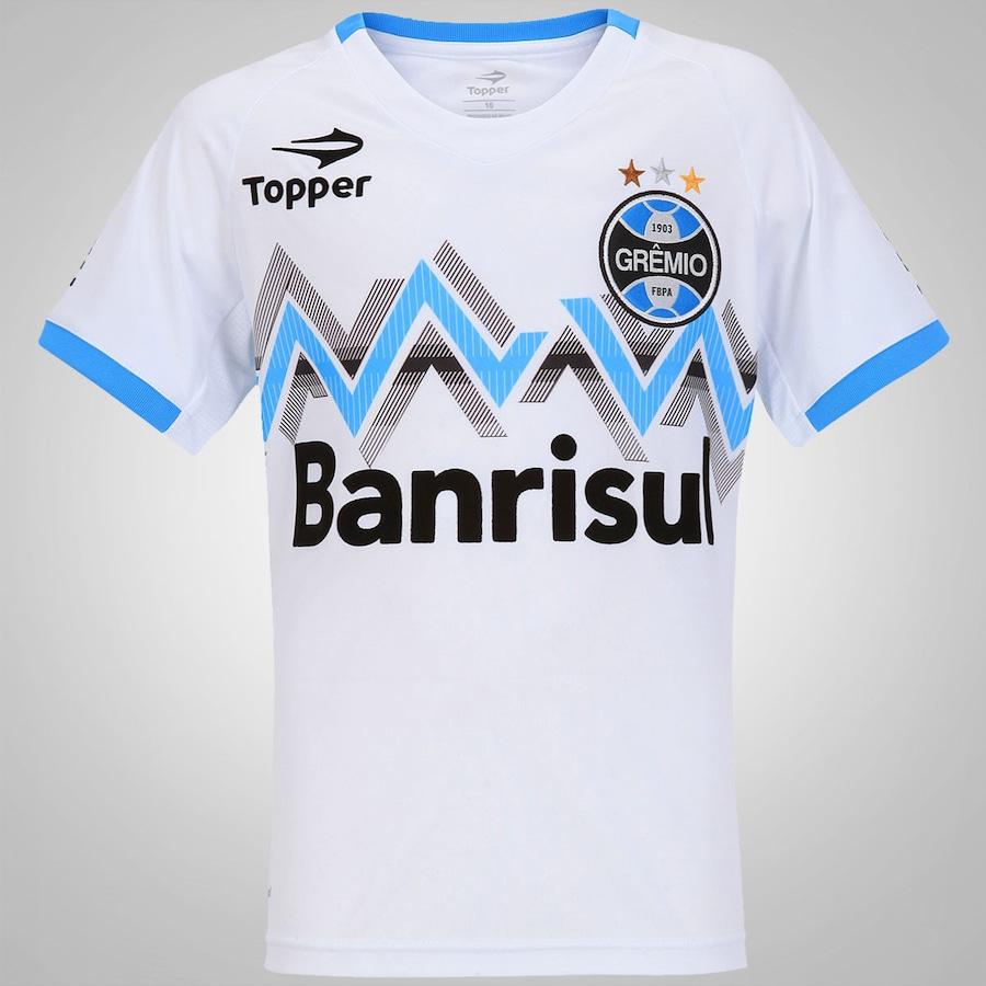 7e3cd74887aa7 Camisa Topper Grêmio II 2014 nº 10 Infantil