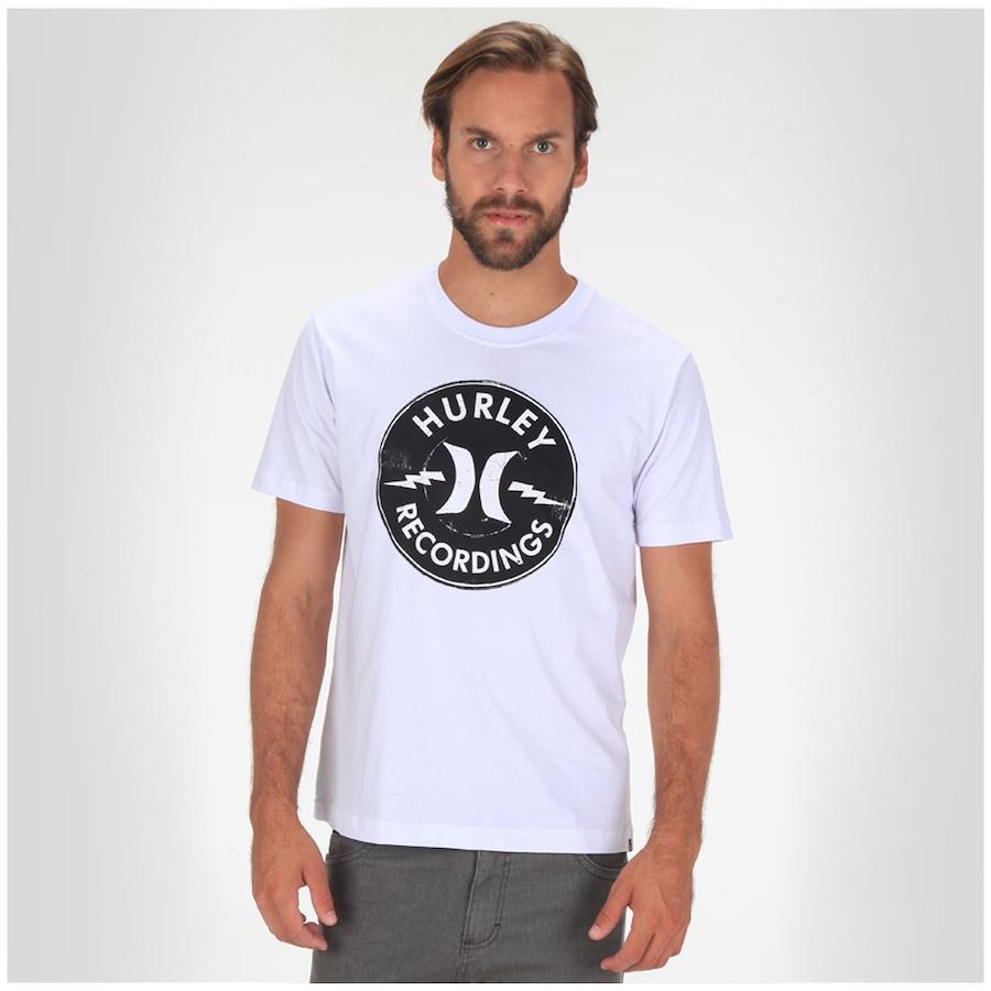 59e58d4f261cc Camiseta Hurley Recordings - Masculina