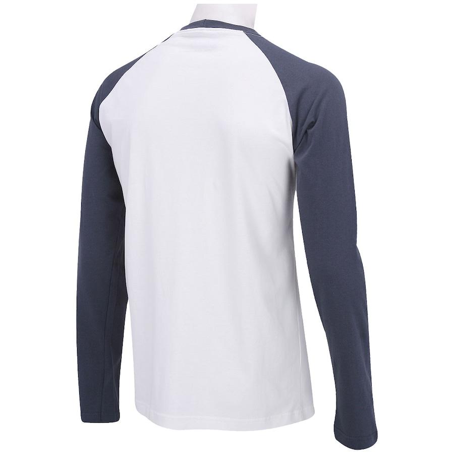 b8dda713fb3a1 Camiseta Manga Longa Hurley Raglan