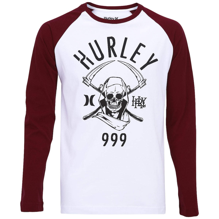 Camiseta Manga Longa Hurley Shadow Walker e85b7bc842c51