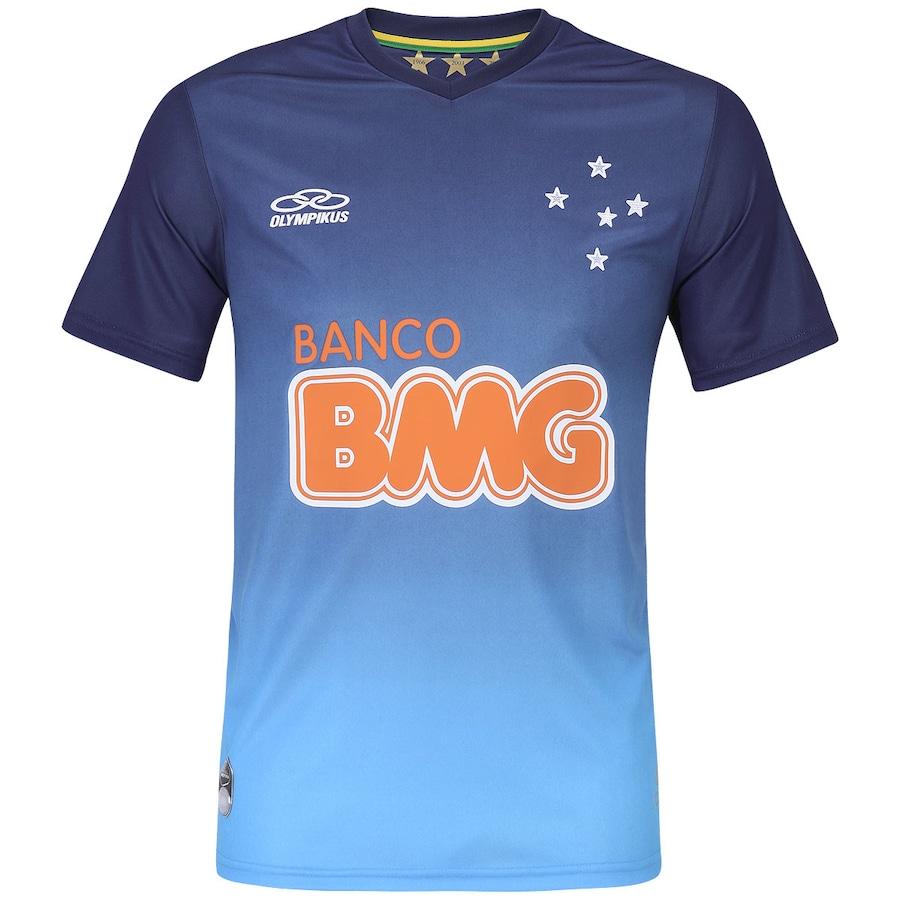 90b03d77d8385 Camisa de Treino Olympikus Cruzeiro 2014