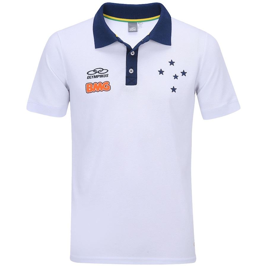 Camisa Polo de Viagem Olympikus Cruzeiro a689c9e751e92