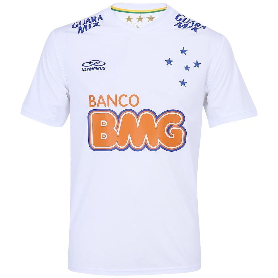 38eccdbe4d Camisa do Cruzeiro II 2014 s nº Olympikus