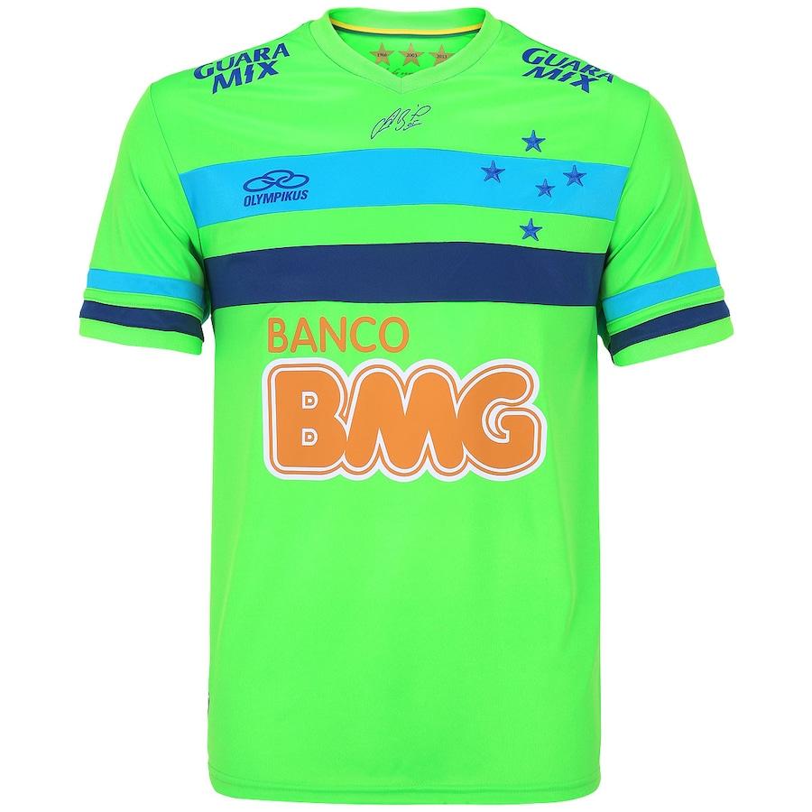 Camisa de Goleiro Cruzeiro 2014 Olympikus c78d2dc80a22f
