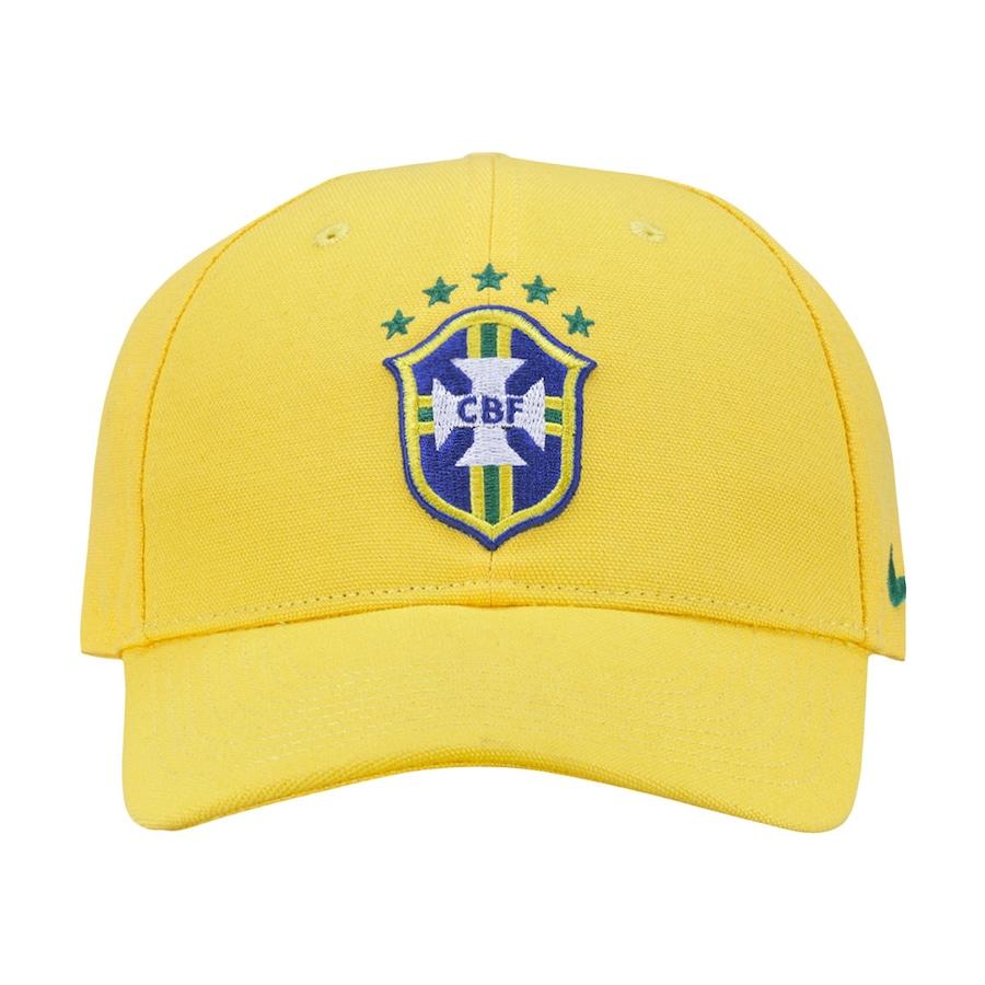Boné Nike Brasil CBF Core - Strapback - Adulto 739e9b2ecc4a3