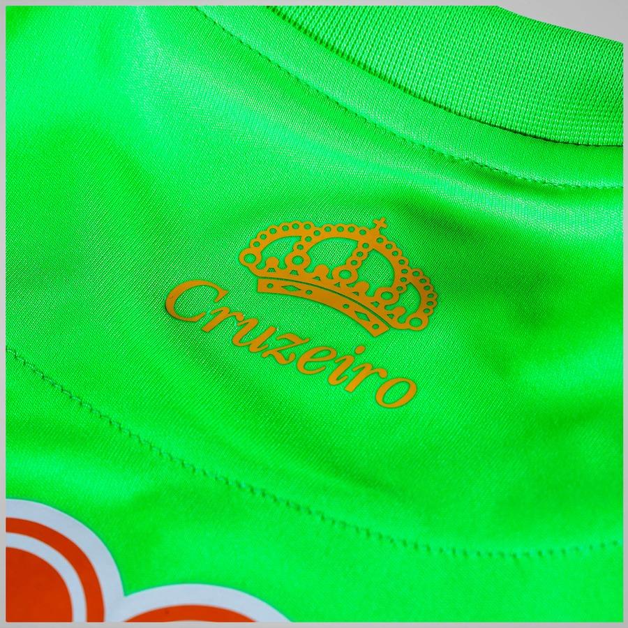 ... Camisa de Goleiro do Cruzeiro 2015 nº 1 Olympikus - Infantil 16579da06967c
