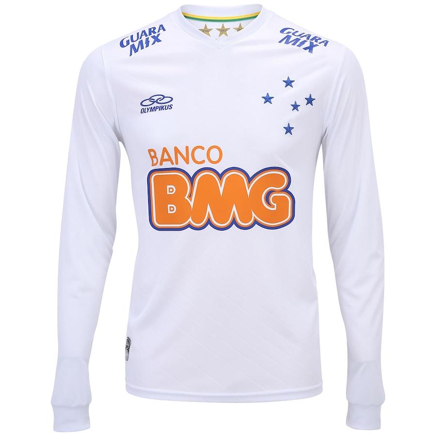 Camisa Manga Longa Olympikus Cruzeiro II 2014 nº10 b37c57cd8fe88