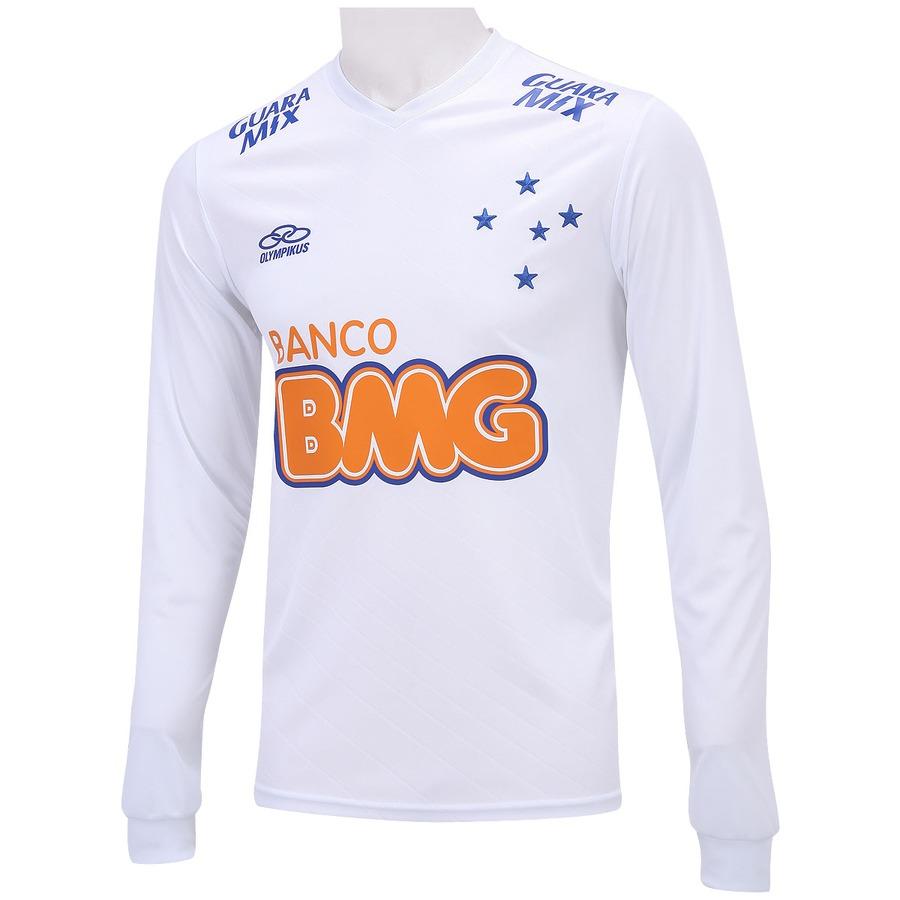 Camisa Manga Longa Olympikus Cruzeiro II 2014 nº10 84e2bb6714c4e