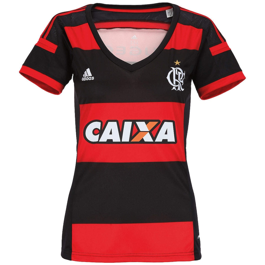 Camisa Adidas Flamengo 2014 s nº Feminina f3ba53cdc963b