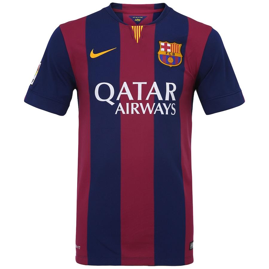 5510208f80 Camisa Nike Barcelona I 2014-2015 s  nº