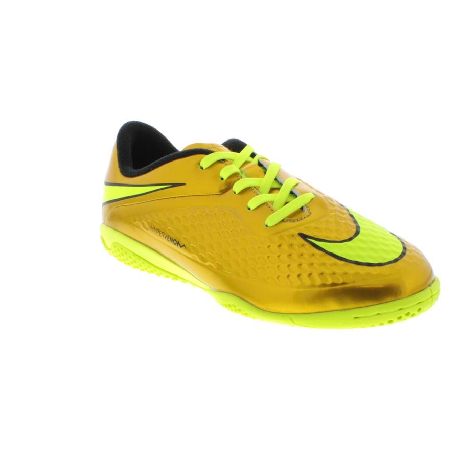 ... Chuteira de Futsal Nike Hypervenom Phelon IC - Infantil ... 77d1cb7621fb7