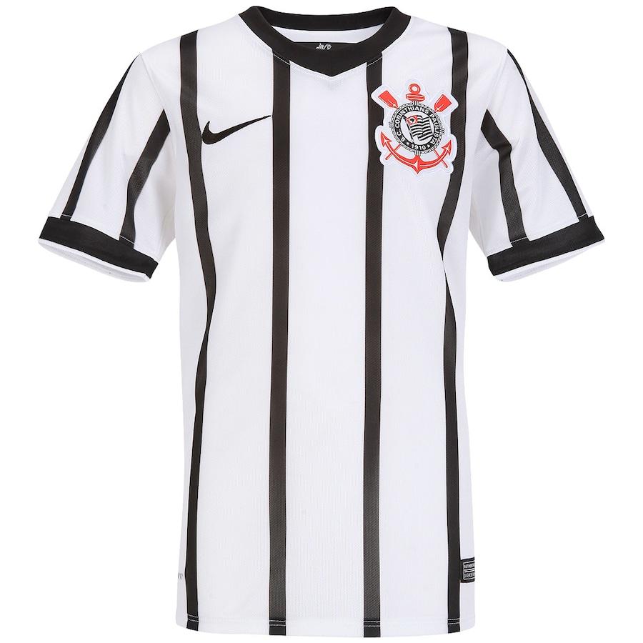 4ad1fd36f2 Camisa Nike Corinthians I 2014 s nº - Juvenil