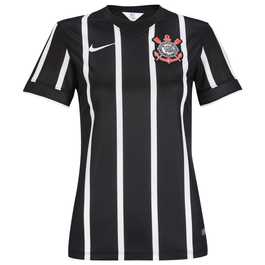 Camisa Nike Corinthians II 2014 s nº - Feminina eb827c8c7a38e