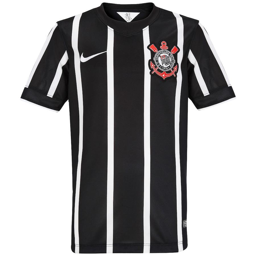 Camisa Nike Corinthians II 2014 s nº - Juvenil 2b209c9130508
