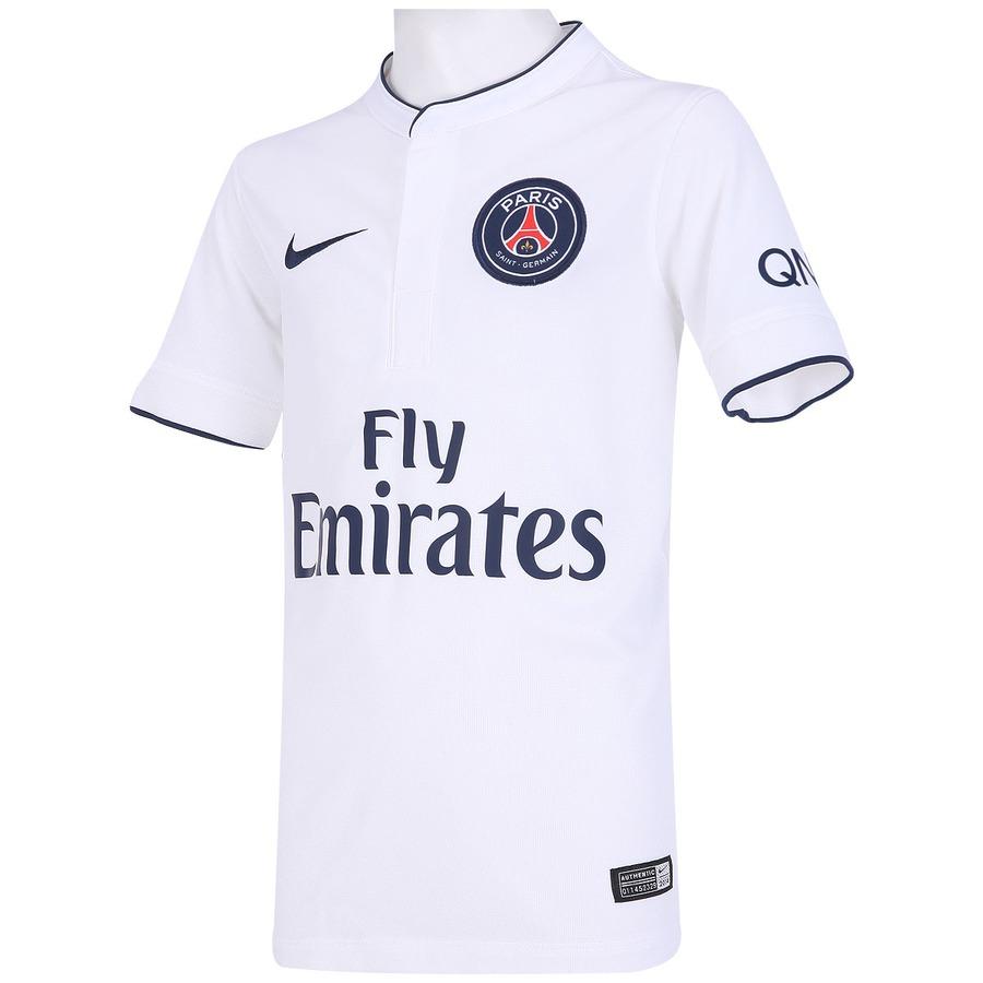 c23df1bd4f ... Camisa Nike Paris Saint Germain II 2014-2015 s/ nº - Juvenil ...