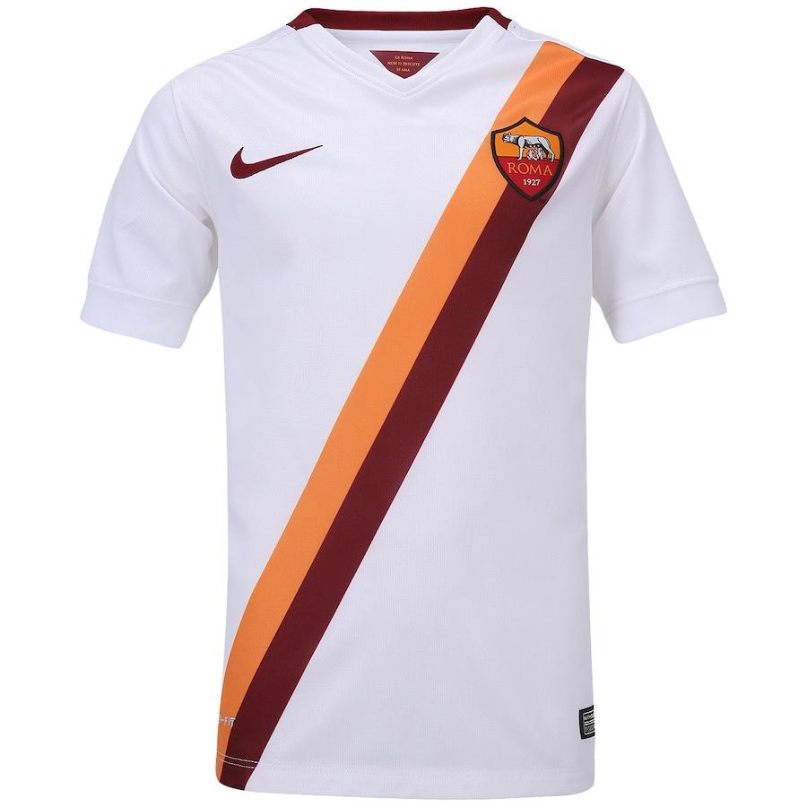 Camisa Nike Roma II 2014-2015 s  nº - Juvenil f1227d35fbcb3