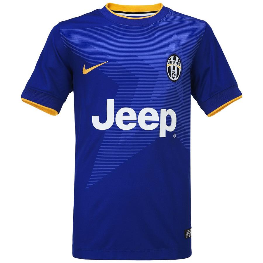 5cc8c5be32 Camisa Nike Juventus II 2014-2015 s/nº - Juvenil