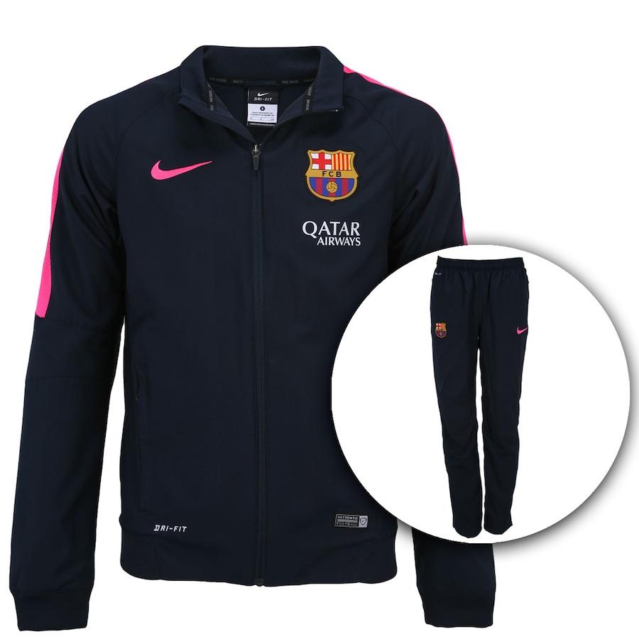 749078de36907 Agasalho Nike Barcelona