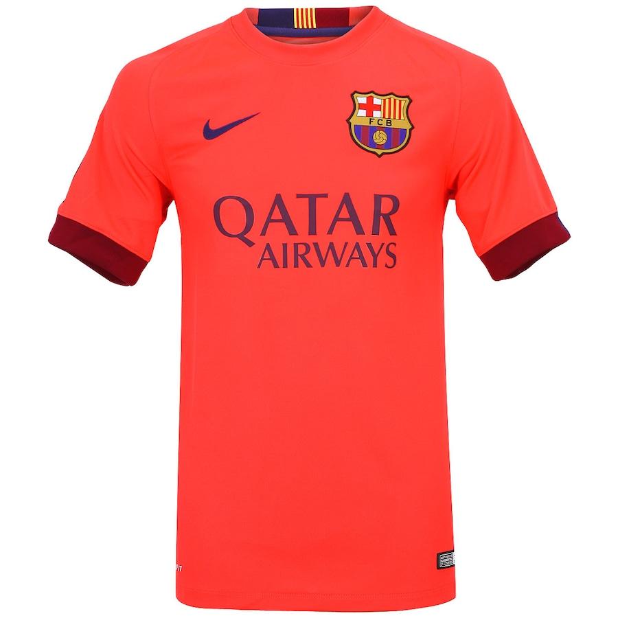 Camisa Nike Barcelona II 2014 2015 s n° bd17209f30d9c