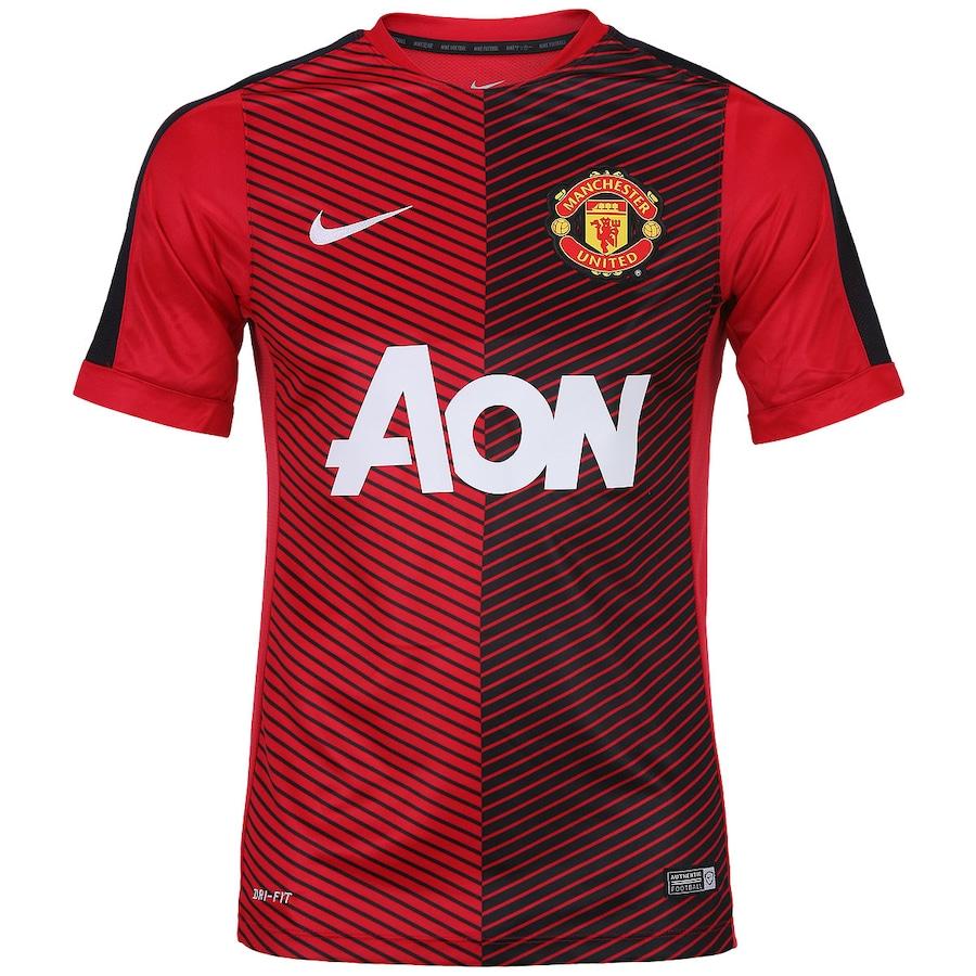 Camisa Pré- Jogo Nike Manchester United 2014-2015
