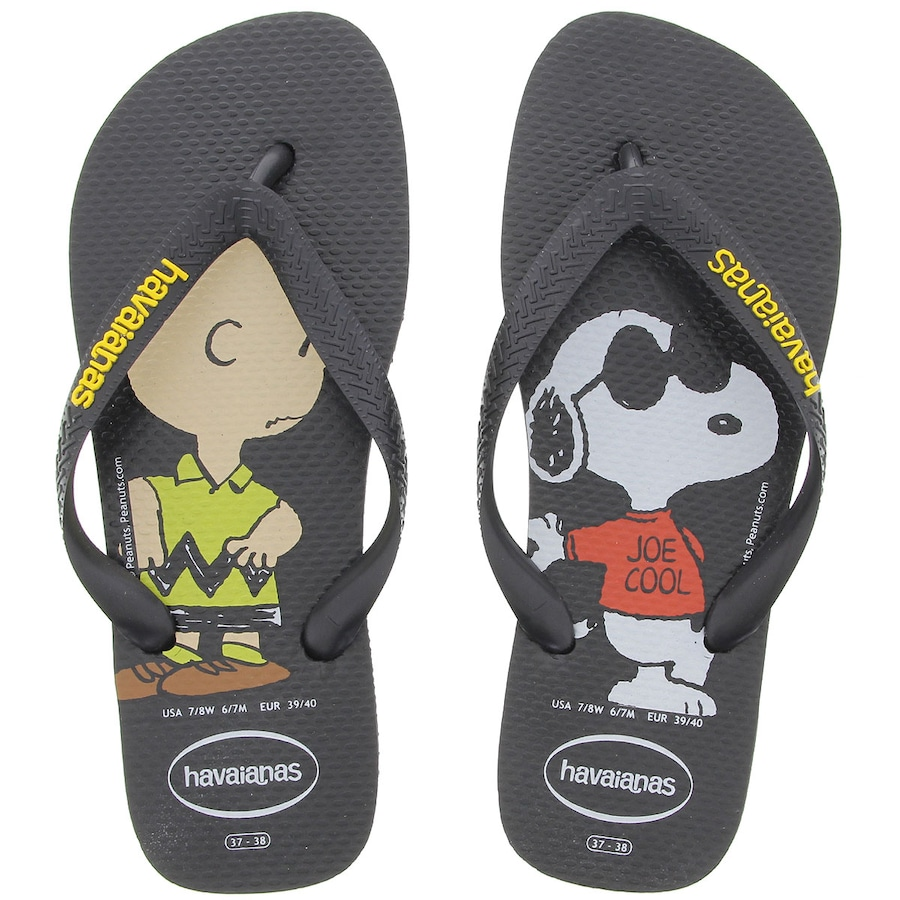 ce756dd2f Chinelo Havaianas Snoopy - Unissex