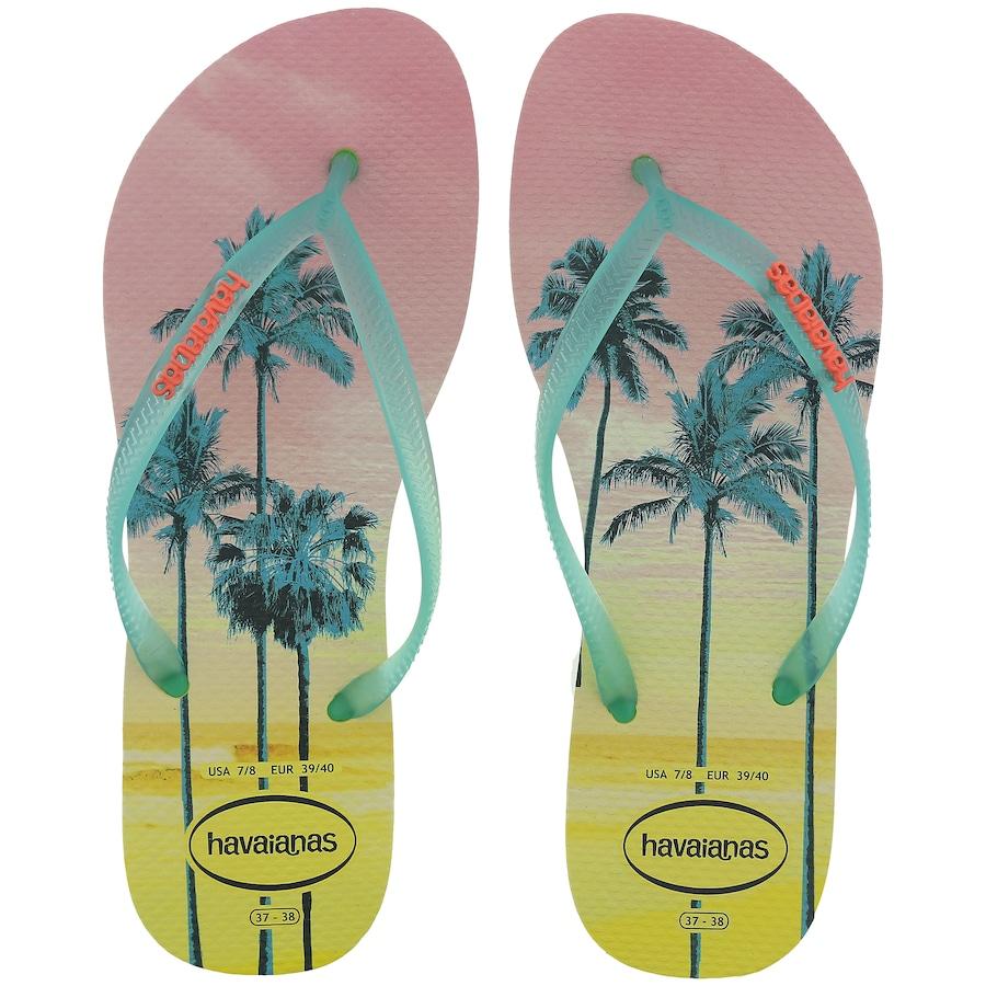 7e16fd099 Chinelo Havaianas Slim Paisagem - Feminino