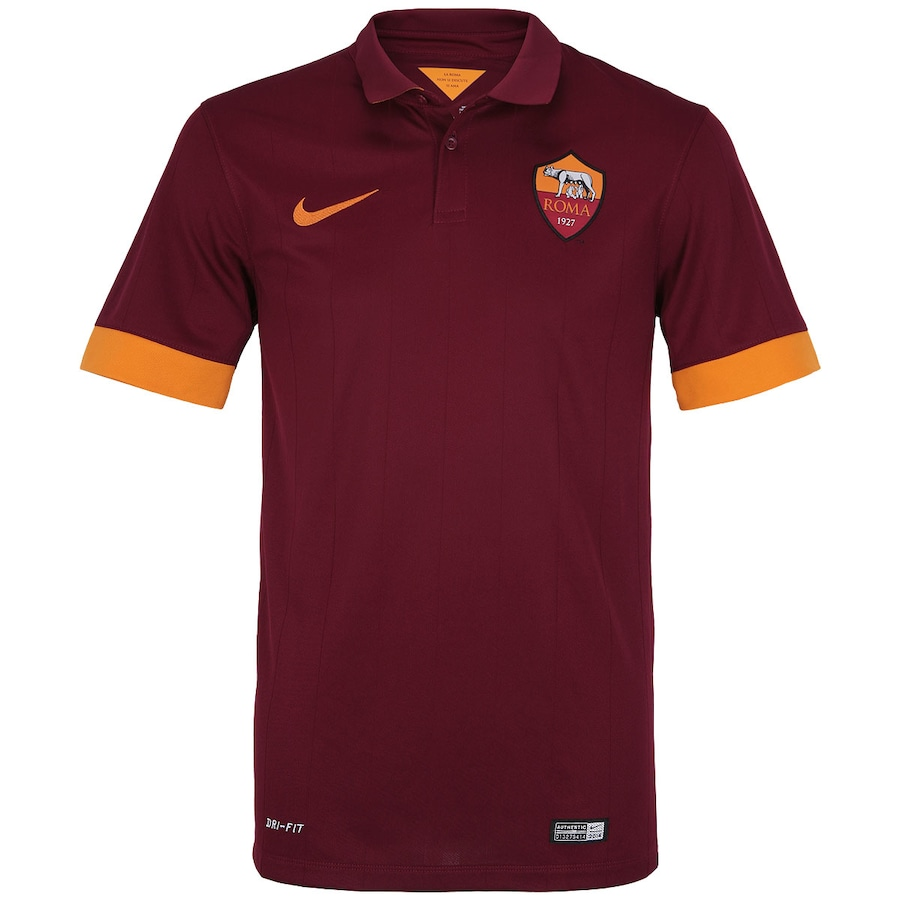 6ee05c9911b90 Camisa Nike Roma I 2014-2015 s  nº