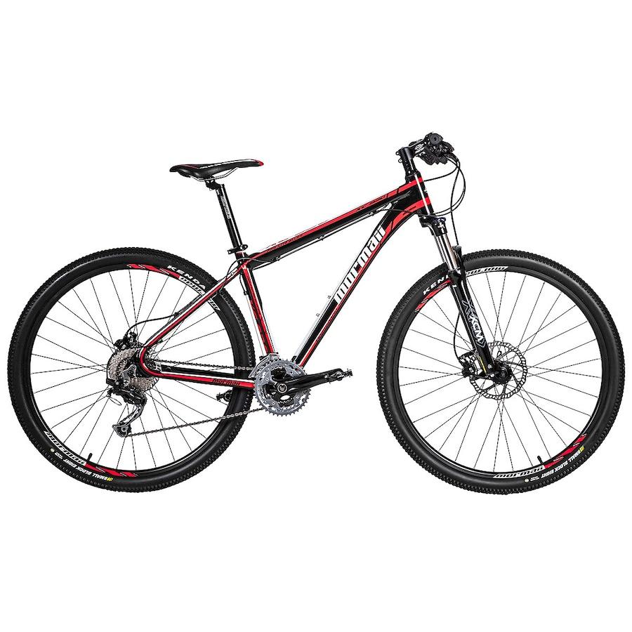 Bicicleta Mormaii Floater Xc930 T19 Aro 29 Susp. Dianteira 20 Marchas - Preto/vermelho