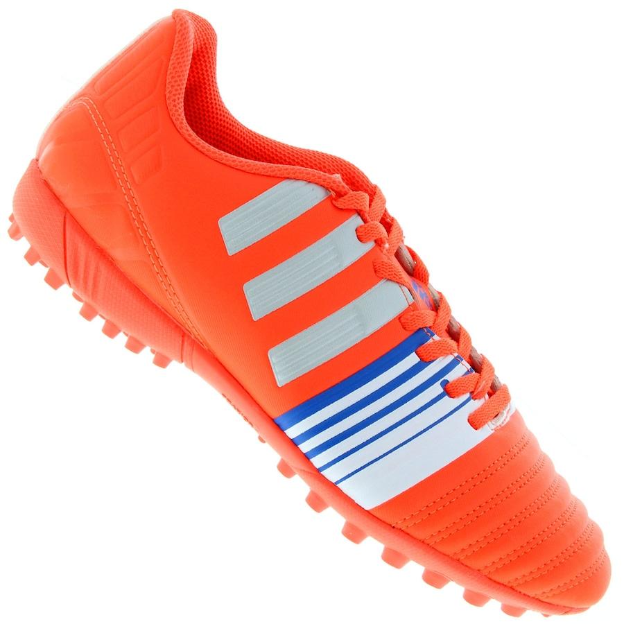 Chuteira Society Adidas Nitrocharge 4.0 TF - Adulto d6a4e03ec7139