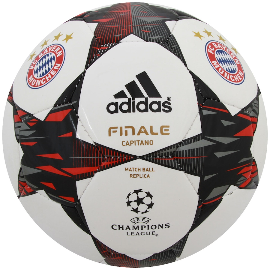 Bola de Futebol de Campo Adidas Finale 14 Bayern de Munique d88788d278eb6