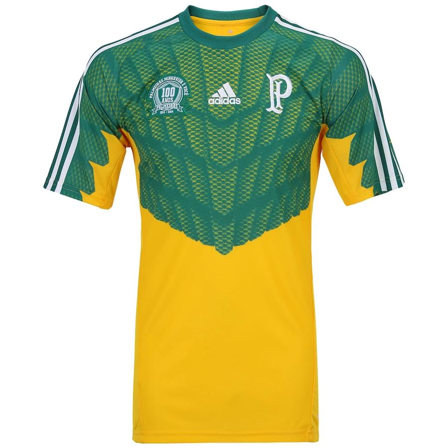 Camisa de Goleiro Palmeiras III 2014 s nº Adidas d34be1525cf1a