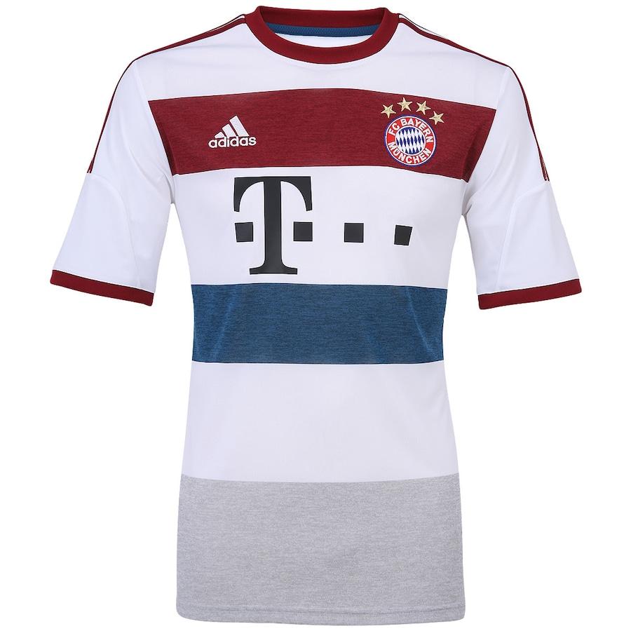 ... Camisa Adidas Bayern de Munique II 2014-2015 s nº 5f005c3b7732ab ... 2efcd60b502bf