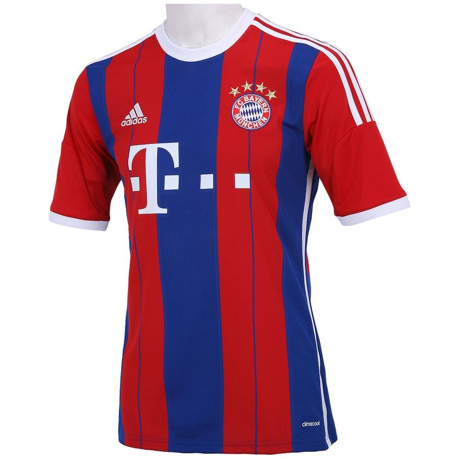 ec55840bf8 Camisa Adidas Bayern de Munique I 2014-2015 s/n°