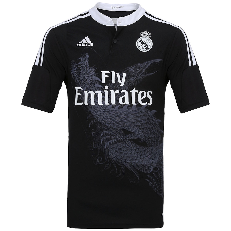 Camisa Adidas Real Madrid III 2014-2015 s n° 88a59c324bbb5
