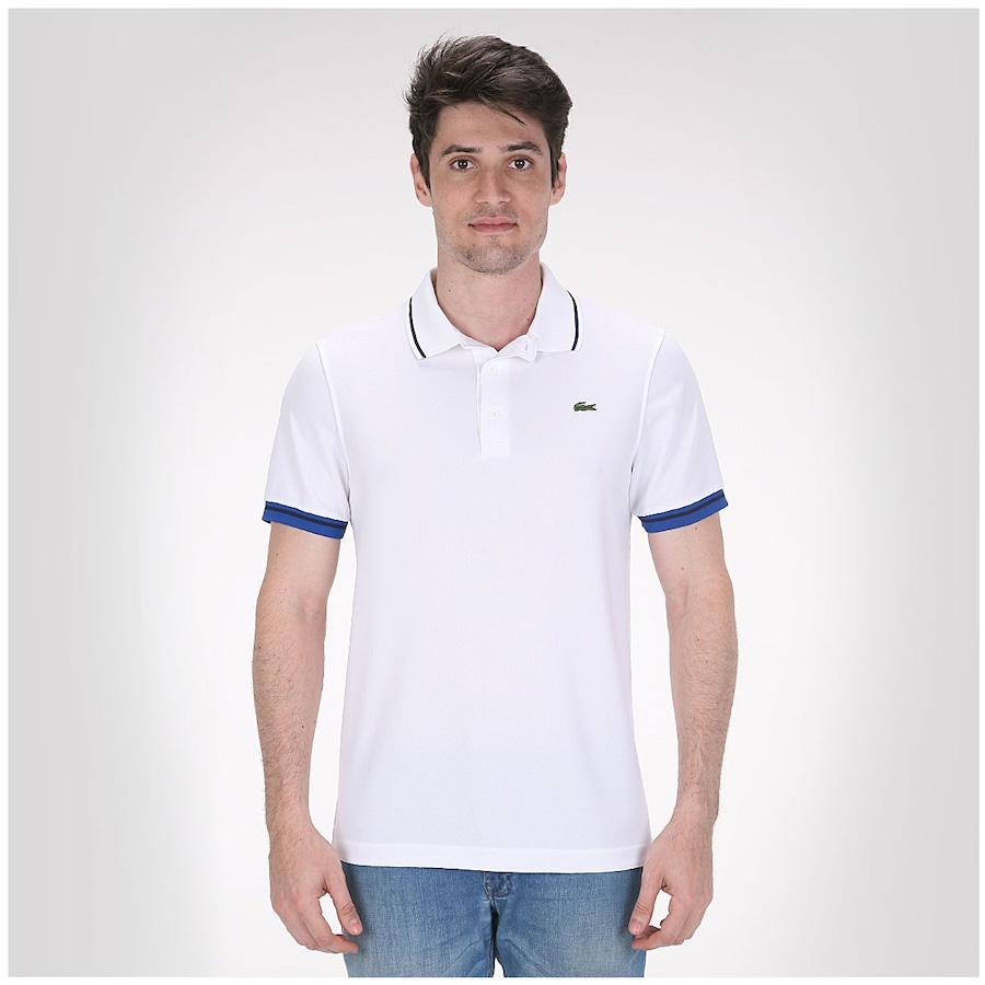 Camisa Polo Lacoste Slim Fit - Masculina d7c813cd91