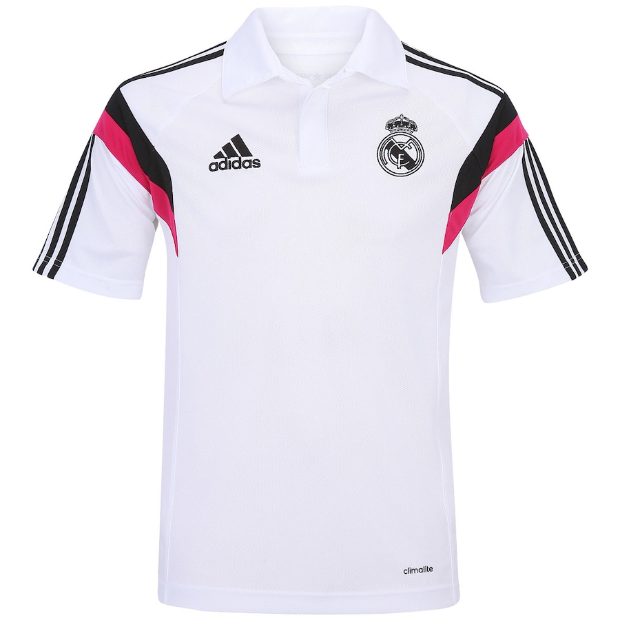 38cad6dc7dc01 Camisa Polo Adidas Real Madrid Viagem - Masculina