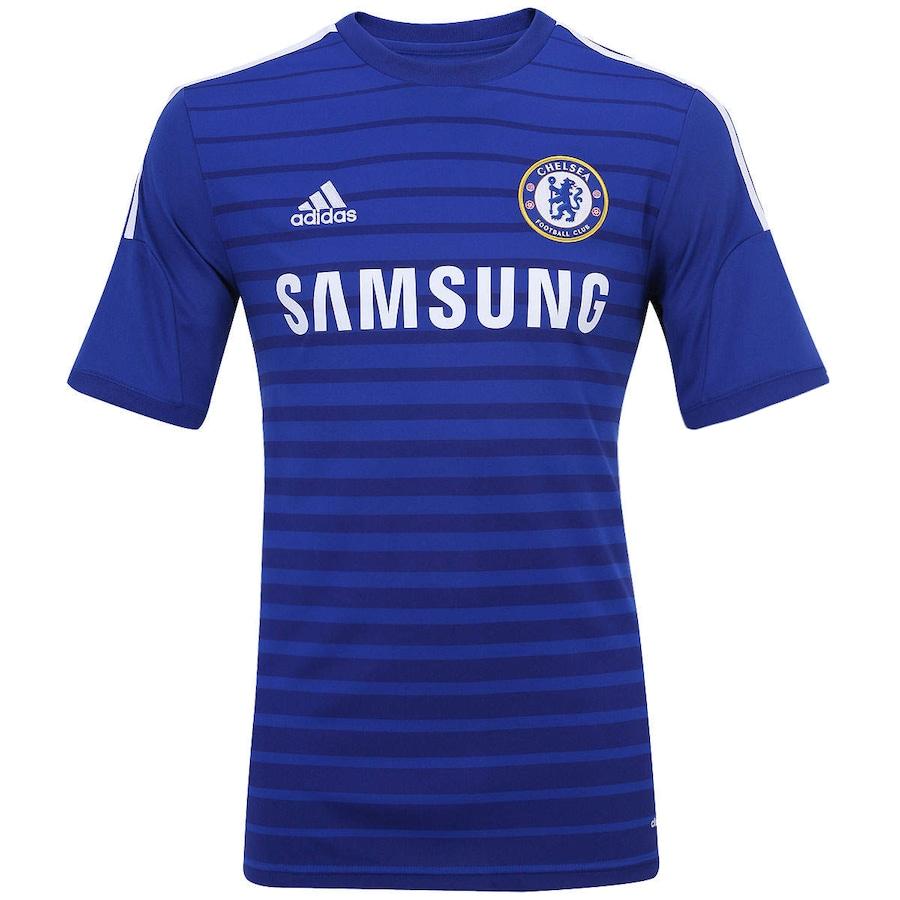 9c0682145f6 Camisa Adidas Chelsea I 2014-2015 s n°