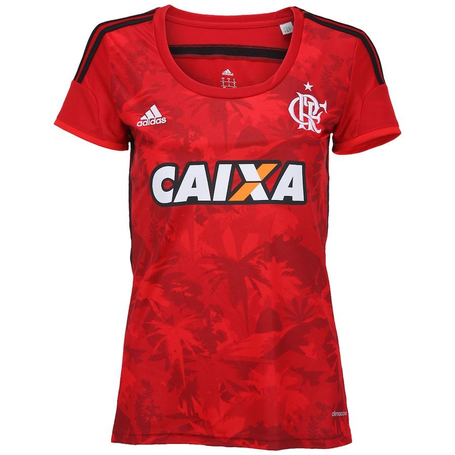 f3671e4c65 Camisa Adidas Flamengo III 2014 s nº - Feminina