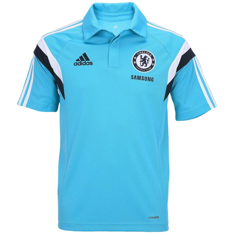 Camisa Polo de Viagem Adidas Chelsea Masculina 203f57adbd5c8