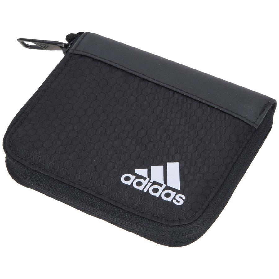 Carteira adidas 3S Essentials - Fechamento em Zíper e20ae78ace